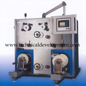 Optical fiber Proof Tester and Rewinder